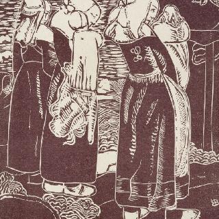 세 명의 브르타뉴 여자들과 그녀들의 아이들
