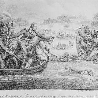 1794년 네덜란드 전장 일화