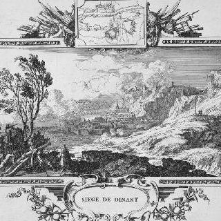 1675년 뫼즈 강 위 디낭 공략