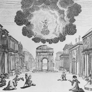 1650년, 코르네이유의 앙드로메드 배경