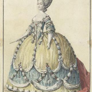 궁정복장을 한 마리-조셉 드 사부아 (1753-1810), 프로방스 백작 부인