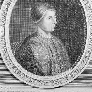 자크 퀘르 초상화 (1395-1456), 1450년 샤를 7세 왕의 재무 감독관