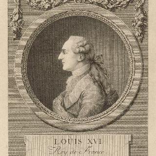 1775년의 루이 16세 (왼쪽 프로필 상반신)