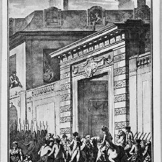카스트리 관 약탈, 1790년 11월 15일