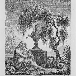 루이 16세와 왕실 가족의 죽음에 대한 우의 조판