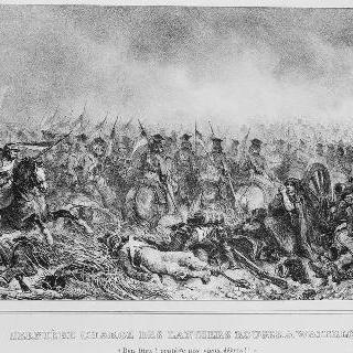 워털루 전투 당시 붉은 창기병의 마지막 임무