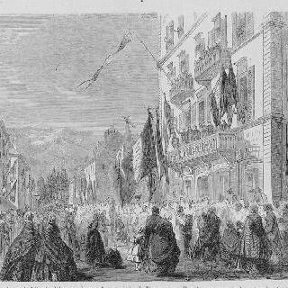 1860년 8월 사부아 지방 프랑스로 병합