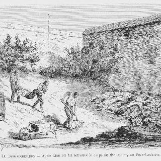 공동묘혈 - 다르두아 예하의 시체가 발견된 장소