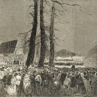 나폴레옹 3세의 장례식, 1873년 1월 25일 이미지