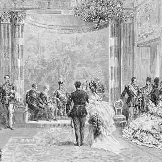 1873년 7월 프랑스를 방문한 페르시아 왕
