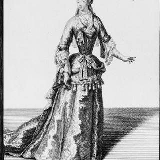 마리-엘리자베스 드 뤼드르 부인, 몬스 수도회 참사원