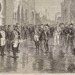 1878년 파리 만국박람회 개막식