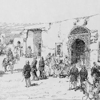 1881년 튀니지를 점령한 카이루앙