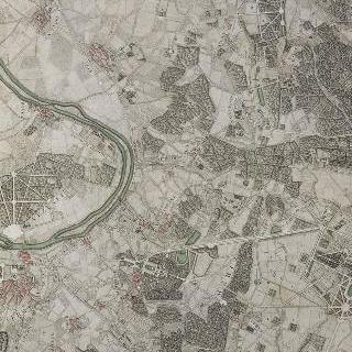 파리 근교 지도