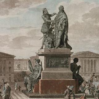 파리에 있는 루이 16세 찬양 기념비 초안