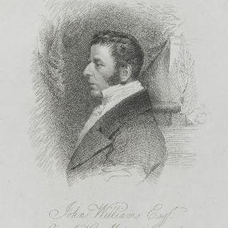 존 윌리엄스, 영국 왕실의회의 의원, 1821년 모습
