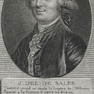 장-밥티스트 이조아르 (1743-1816), 일명 데리슬 드 살, 작가