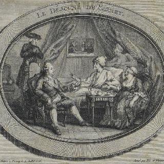 페르네의 점심, 1775년 7월 4일