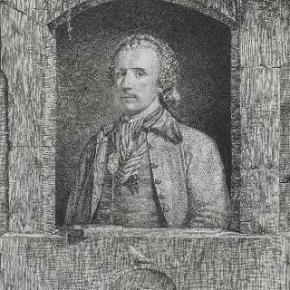 앙투안 드 마랑시 드 귀 (1722-1811), 화가, 조각가, 1760년의 자화상