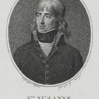 질-조셉-마르탱 브뤼네토 (1760-1830), 생트-쉬잔느 백작 장군