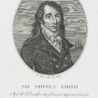 윌리엄-시드니 스미스 경 (1764-1840), 영국 제독