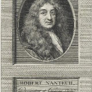 로베르 낭퇴유 (1623-1678), 파스텔 화가, 데생 화가, 조각사