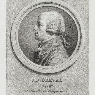 장-밥티스트 브레발 (1753-1823), 첼로 교수, 작곡가