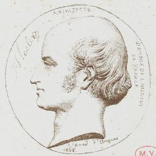 프랑수아-르네-아키유 르클레르, 건축가 (1785-1853)