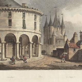 제정 시대, 파리의 둥근 지붕 신전과 신전 탑 전경