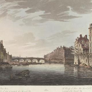 제정 시대, 생-루이 섬과 마리 다리 전경