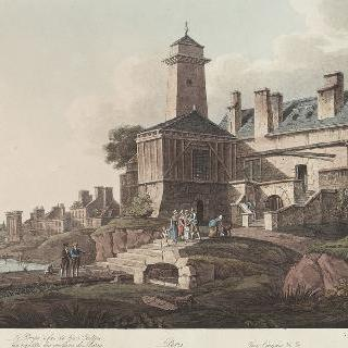 제정 시대 파리 그로 카이유의 퐁프 아 풰 전경