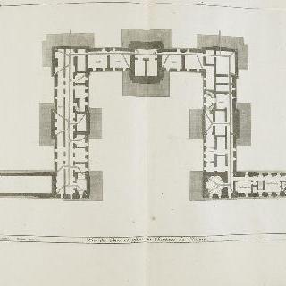 판 51 : 1678년 클라뉘 성의 지하실 도안