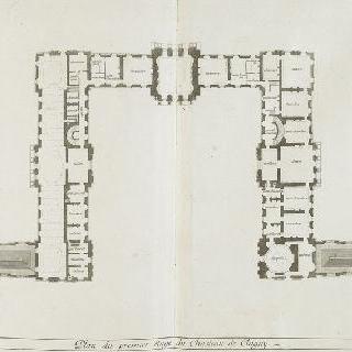 판 53 : 1678년 클라뉘 성 이층 도안