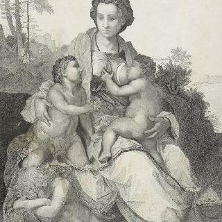 안드레아 델 사르토 풍의 자비