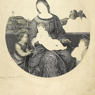 라파엘로 풍의 테라노바 공작의 성모
