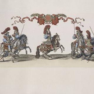 기마 집단 경기 삽화 시리즈 ; 1662년