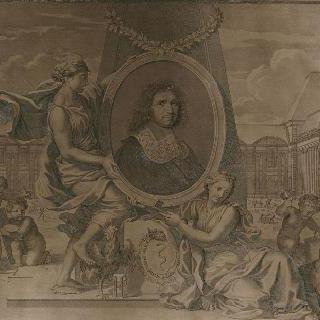 콜베르 (1619-1683)의 우의적 초상화, 장관