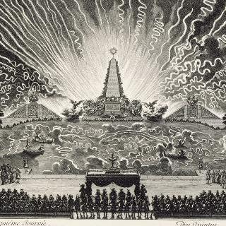 다섯 번째 날. 베르사유 운하의 불꽃 놀이