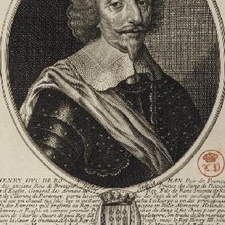 앙리, 로안 공작, 레옹 왕자, 왕실군대 장군 (1582-1638)