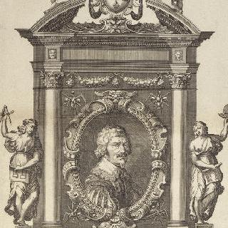 알렉상드르 프란치니, 루이 13세 왕의 수력 기술자