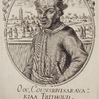 오옥-쿤스리비사라바-키아-트리툰, 1686년 프랑스 주재 시암 왕 특사