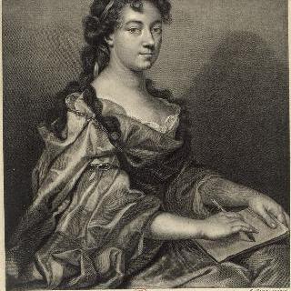 엘리자베스-소피 슈롱 (1648-1711), 화가이자 여류 시인