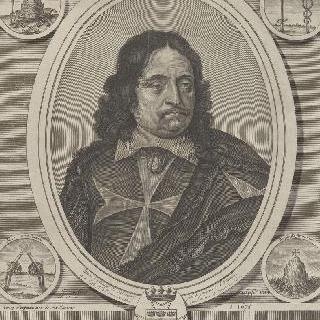 앙리 데탕프 드 발랑세, 바일리 드 말트, 프랑스 대 수도원장 (1603-1678)