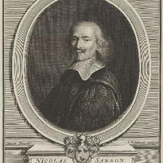 니콜라 상송, 국가 고문 이자 왕실 일반 지리학자 (1600-1667)
