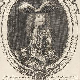샤를 드 프랑스, 베리 공작 (1686-1714), 대공 아들
