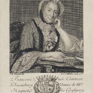 프랑수아즈 디상부르그, 그라피뉘 부인, 여류 문인 (1695-1758)
