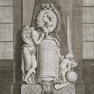 피에르-루이 모로 드 모페르튀 무덤 모습 (1698-1759)