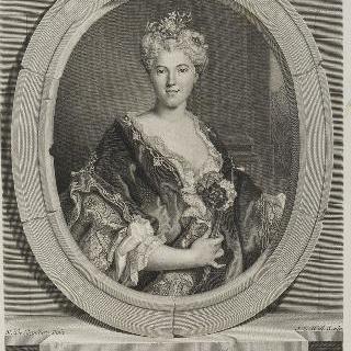 마리-엘리자베스 드 라르질리에르, 화가 니콜라 드 라르질리에르의 딸