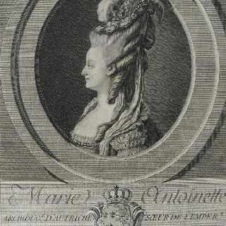 마리 앙투아네트, 오스트리아 대공녀, 1774년 프랑스 왕비 (1755-1793)