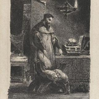 자신의 사무실에 있는 파우스트, 다섯 번째 판, 1827년